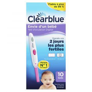10 tests ovulation digital 2 jours de fertilité
