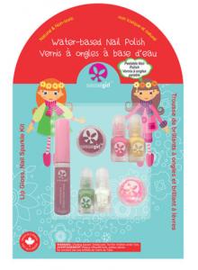 Jingle Lingle Sparkle Kit scintillant 4 vernis de 2ml