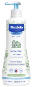 Hydra Bébé lait corps à l'avocat Bio 500ml