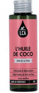 Huile végétale de Noix de Coco Bio 100ml