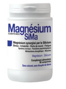 90 comprimés magnésium anti-fatigue