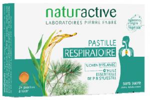 24 Pastilles respiratoires aux essences