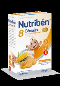 8 céréales et miel biscuitée boite de 300g