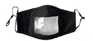 Fenêtre transparente coloris noir ou gris