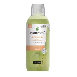 Nutri-pulpe 100% pur aloe vera goût pêche blanche 1L