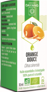 Bio orange douce 10ml