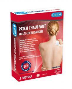 Patch chauffant épaule-nuque-poignet 13cmx10cm