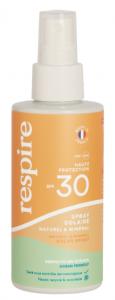 Spray solaire naturel & minéral SPF30 120ml
