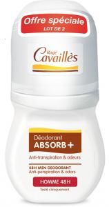 2 déodorants roll-on homme 2x50ml