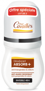 Déodorant roll-on invisible 2x50ml