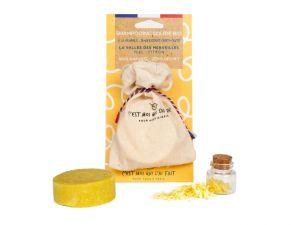 shampooing bio miel/citron 65g