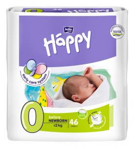 46 couches bébé taille 0 <2kg