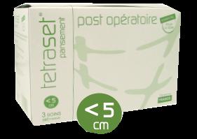 Set post-opération plaies jusqu'à 5cm boite de 3