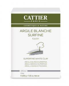 gommage argile blanche aloe vera 100ml