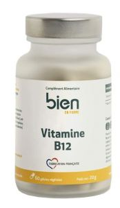 Vitamines B12 boite de 60 gélules